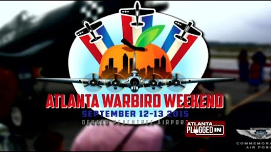 Atlanta Warbird Weekend: September 12-13, 2015 at Dekalb-Peachtree Airport