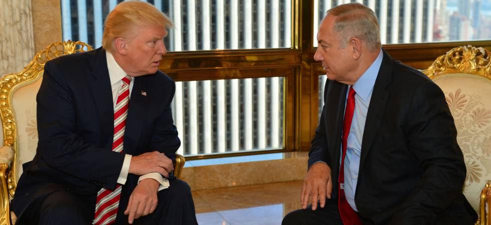 Donald Trump y Benjamín Netanyahu, el 25 de septiembre en Nueva York.
