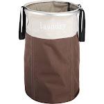 Whitmor Easycare Laundry Hamper, Java
