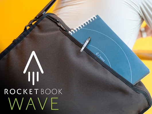 Rocketbook Wave: Cloud Connected Microwavable Notebook
