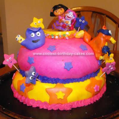 Dora Explorer Birthday Cakes On Coolest The Cake 36