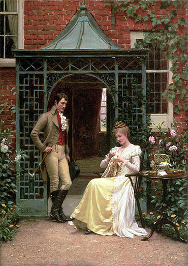 File:Edmund Blair Leighton - On the Threshold.jpg