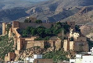 Español: Fotografía de la Alcazaba de Almería,...