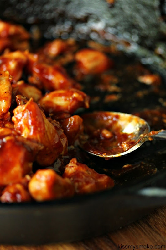 Easy Chicken Bites with Weber BBQ Sauce