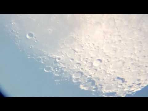 La Luna videos desde mi telescopio del año 2017