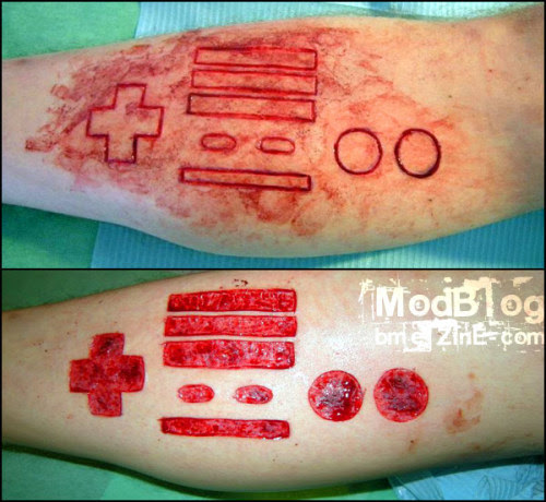 BME: Tattoo, Piercing and Body Modification News - ModBlog - Nintendo