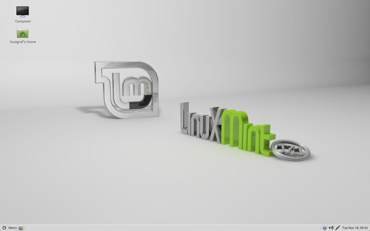 Mint 17.1 Mate Desktop