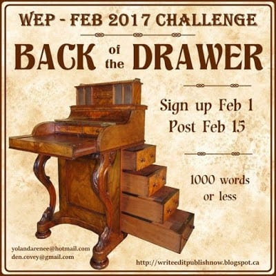 THE LETTER | BACK OF THE DRAWER #WEPFF CHALLENGE