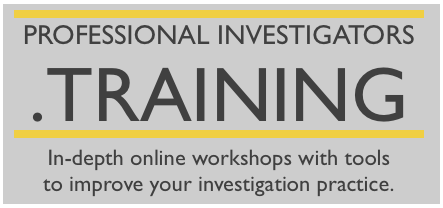 Upcoming Course: Social Media and Background Investigation Master Class