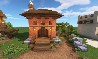 Minecraft 5 Simple Starter House Designs Build Tips Ideas Bluenerd