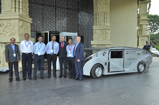 SolarMobil Manipal- Winners of QuEST Global 2015