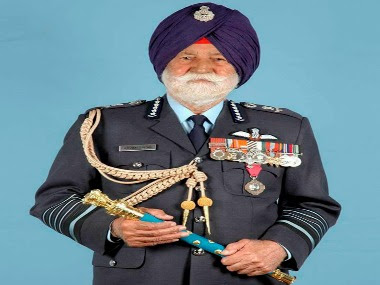 Marshal of the Air Force Arjan Singh. PTI