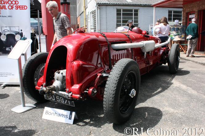 4 1/2 litre S/C Bentley, Brooklands Double Twelve