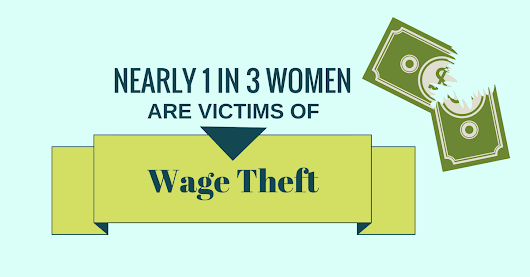 Nearly 1 in 3 Women are Victims of Wage Theft