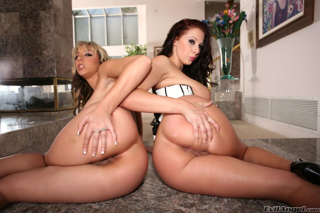 Two Tiny Teens Anal Threesome