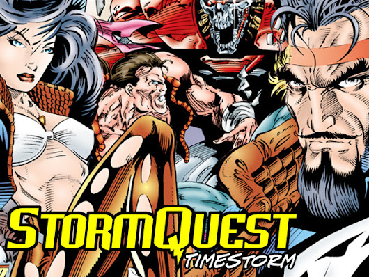 STORMQUEST: TIMESTORM Graphic Novel