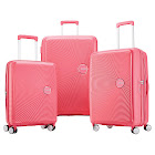 American Tourister Curio 3-Piece Hardside Set, Light Pink