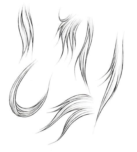 draw hair part  manga university campus store