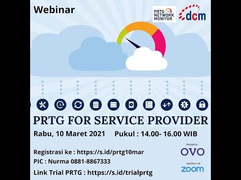 PRTG jadi pilihan Service Provider di Indonesia
