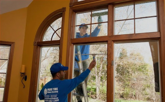 Prime Time Window Cleaning Coverage Area - Chicago & Suburbs