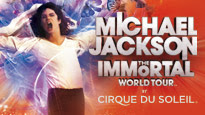 Michael Jackson THE IMMORTAL World Tour by Cirque du Soleil pre-sale code for performance tickets in Long Island, NY (Nassau Coliseum)
