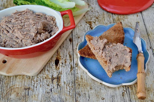 Mushroom Pâté with Walnuts - Packed Full of Vegan Umami Goodness
