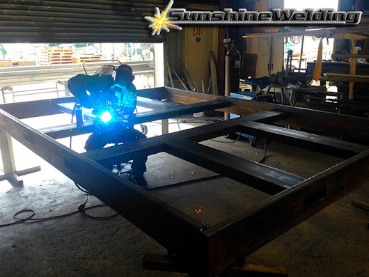 Water jet Cutting and Welding Frames - Sunshine Welding