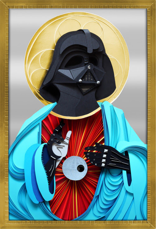 Paper Darth Vader Created by Lobulo Design