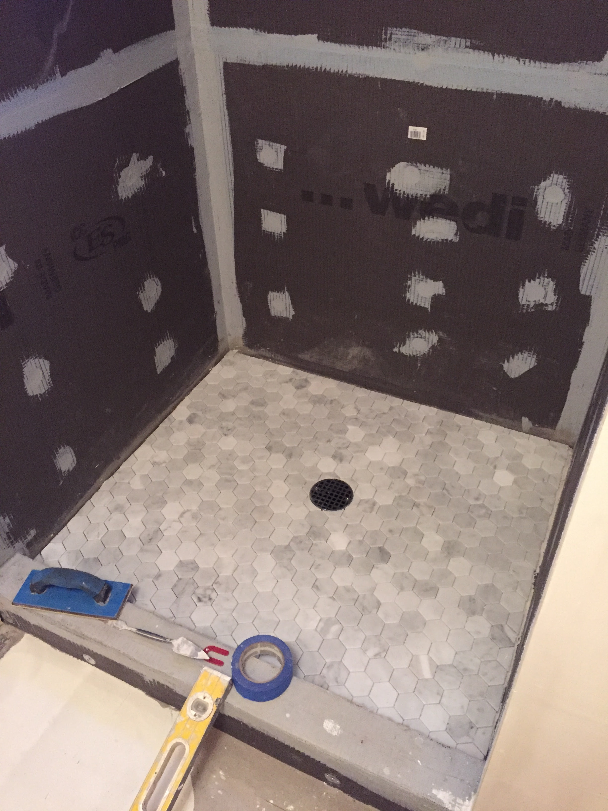 bathroom renovation | Keeping Up With the Allens
