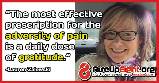 Can the results of chronic pain treatment be improved by staying positive and being grateful for the good things in life?