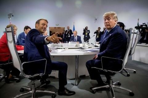 Macron és Trump szerint sem kapott megbízást a francia elnök, hogy Iránnal tárgyaljon