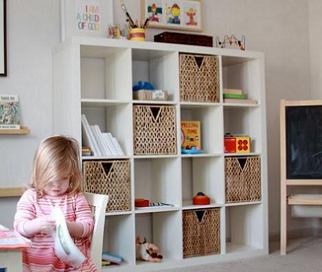 dormitorio muebles modernos estanterias ikea ninos On estanterias infantiles ikea