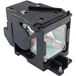 Panasonic PT-LC55U Assembly Lamp with High Quality Projector Bulb Inside