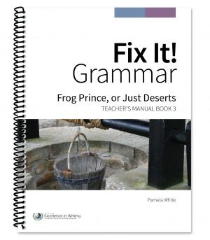 Fix It! Grammar Book 3 Review ~ A fun way to learn grammar while practicing editing and rewriting skills