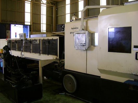 Schutte SF51 DNT with Cucchi Loader 2002 | Used Screw Machines | Graff-Pinkert.com