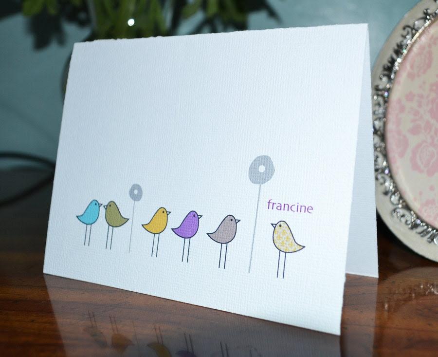 Custom Listing - Color Birdies set of 20 - for Francine