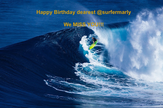 Happy Birthday @surfermarly — Steemit