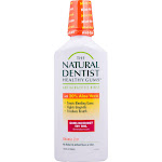 The Natural Dentist Healthy Gums Antigingivitis Rinse, Orange Zest - 16.9 fl oz bottle