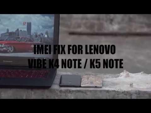 Lenovo K5 Note Imei Repair Umt