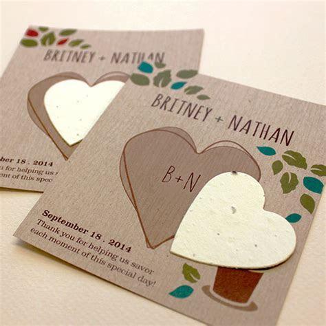 Herb Rustic Wedding Favor   Plantable Seed Wedding Favors
