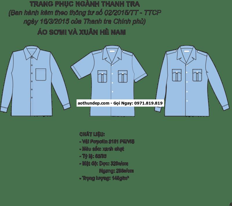 trang phục thanh tra 2015