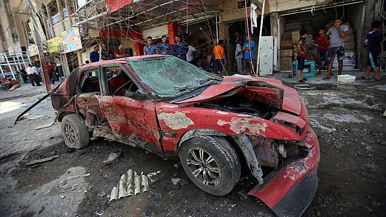 Una cadena de atentados en Irak deja al menos 50 muertos y cientos de heridos