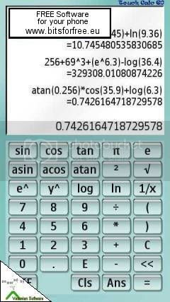 Scientific Calculator for Nokia 5800, N97