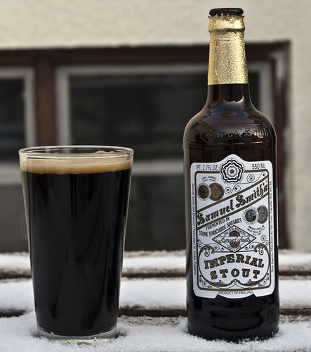 Review: Samuel Smith's Imperial Stout by Cody La Bière