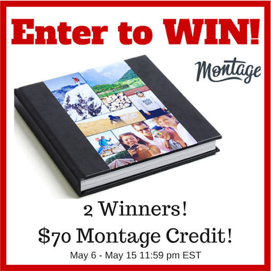 Enter to WIN - Montage Photo Book! 2 Winners! Ends 5/15