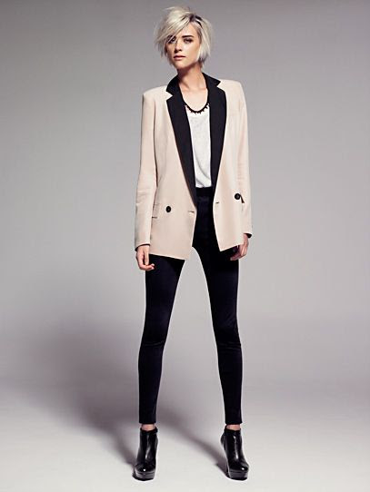 Mango Smoking Masculine Cut Blazer