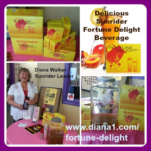 Fortune Delight Sunrider Diana Walker Nutrition Energy Hydrate