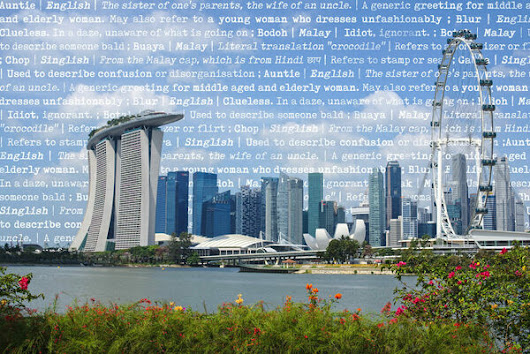 The Government Campaign to Get Rid of Singapore's Unofficial Language - Atlas Obscura