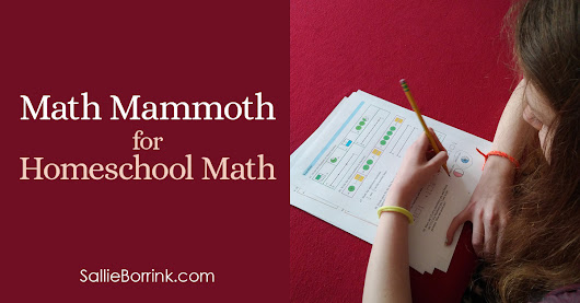 Math Mammoth for Homeschool Math
