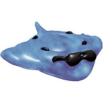 Game 5100 Stingray Inflatable Pool Float - Giant